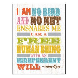 Inspirational Art - Jane Eyre Postcard