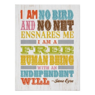 Inspirational Art - Jane Eyre Poster