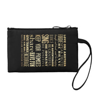 Inspirational Art - Love One Another. Coin Wallet