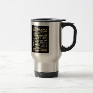 Inspirational Art - Love One Another. Travel Mug