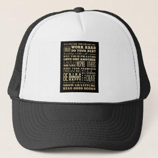 Inspirational Art - Love One Another. Trucker Hat
