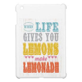 Inspirational Art - Make Lemonade iPad Mini Cases