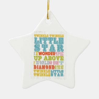 Inspirational Art - Nursery Rhyme Ceramic Ornament