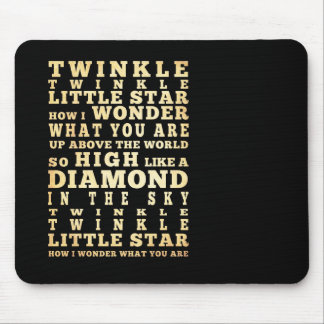 Inspirational Art - Nursery Rhyme. Mouse Pads