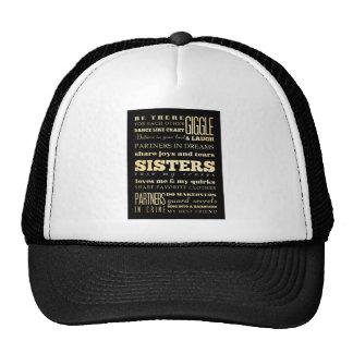 Inspirational Art - Sisters Trucker Hat