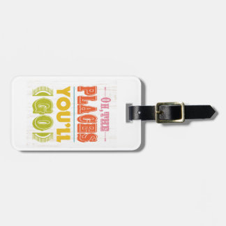 Inspirational Art - The Places. Luggage Tags