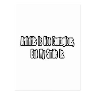 Inspirational Arthritis Quote Postcard