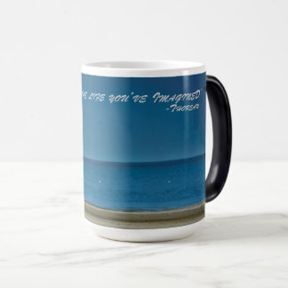 Inspirational Beach Scene Magic Mug