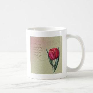 Inspirational Beauty Tulip Coffee Mug
