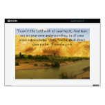 Inspirational Bible Quote Proverbs 3:5-6 Laptop Decals