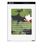 Inspirational Bible Quote Proverbs 3:5-6 iPad Decals