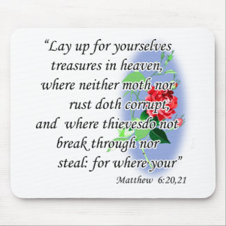 Inspirational Bible Quotes Mouse Pad