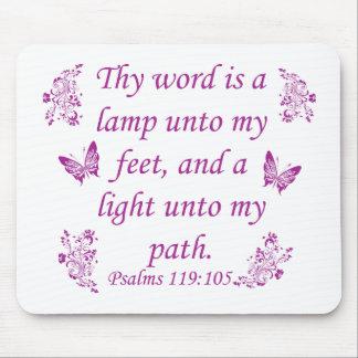Inspirational Bible sayings Mouse Pad