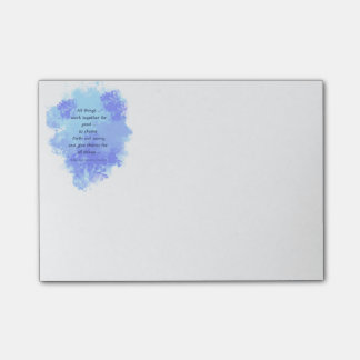Inspirational Bible Scripture Quotes Post-it Notes