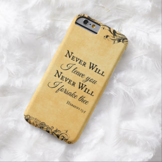 Inspirational Bible Verse Barely There iPhone 6 Case