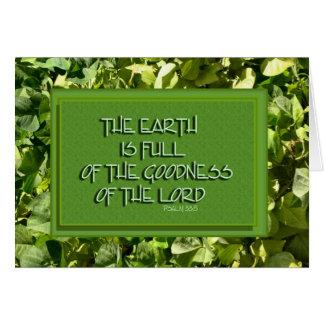 Inspirational Bible Verse Card