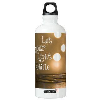 Inspirational Bible Verse Christian Quote Aluminum Water Bottle