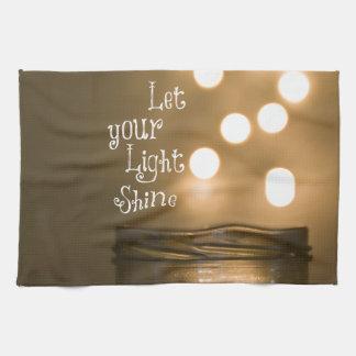 Inspirational Bible Verse Christian Quote Kitchen Towel