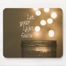 Inspirational Bible Verse Christian Quote Mouse Pad