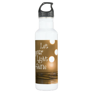 Inspirational Bible Verse Christian Quote 24oz Water Bottle