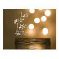 Inspirational Bible Verse Christian Quote Post Card