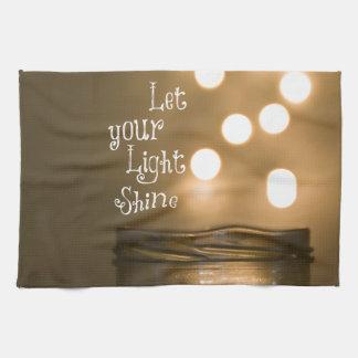 Inspirational Bible Verse Christian Quote Towel