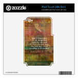 Inspirational Bible Verse iPod Touch 4G Decal