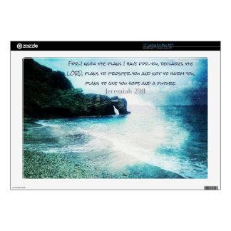 Inspirational Bible Verse Jeremiah 29:11 Decal For Laptop