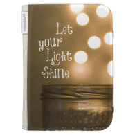 Inspirational Bible Verse Let your light shine Case For Kindle