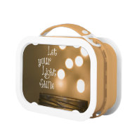 Inspirational Bible Verse Let your light shine Lunch Box