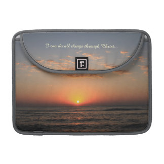 Inspirational Bible Verse MacBook Pro Sleeve