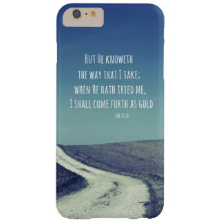 Inspirational Bible Verse Quote Barely There iPhone 6 Plus Case