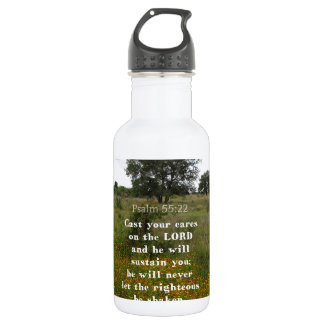 Inspirational Bible Verse Water Bottle