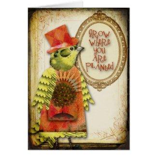 Inspirational Bird Card