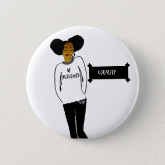 Inspirational Black History Month button