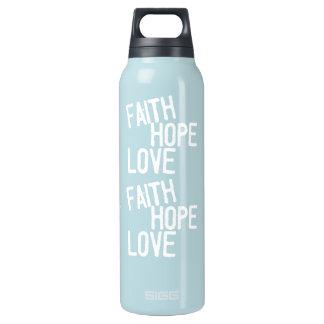 """Inspirational Blessings """"FAITH HOPE LOVE""""  Bottle"""