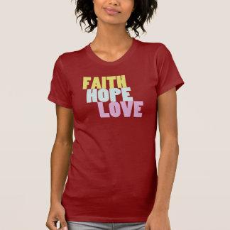 Inspirational Blessings Faith Hope Love Tee