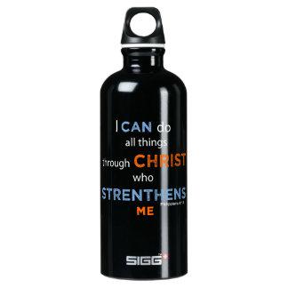 """Inspirational Blessings """"Philippians 4:13""""  Bottle"""