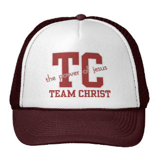 "Inspirational Blessings ""Team CHRIST"" Caps Trucker Hat"