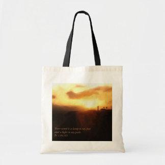 Inspirational Book Bag ~ Lighthouse Bible Verse