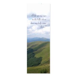 Inspirational  - Bookmark Mini Business Card