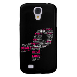 Inspirational Breast Cancer Awareness Ribbon Samsung S4 Case