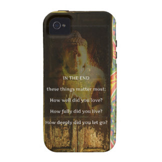 Inspirational Buddha quote about forgiveness Vibe iPhone 4 Case