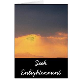 Inspirational Buddha quote Card