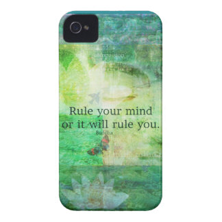Inspirational Buddha quote iPhone 4 Case-Mate Case