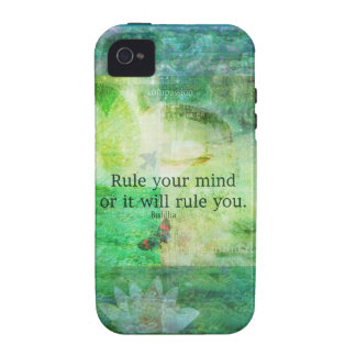 Inspirational Buddha quote Case For The iPhone 4