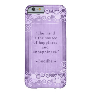 Inspirational Buddha Quote Typography Barely There iPhone 6 Case