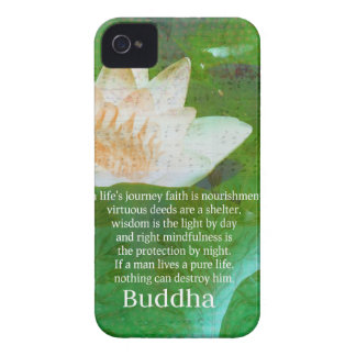 Inspirational Buddhist quote about LIFE JOURNEY iPhone 4 Case-Mate Case