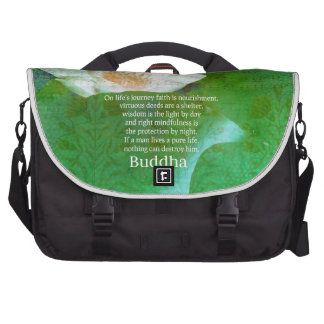 Inspirational Buddhist quote about LIFE JOURNEY Bag For Laptop