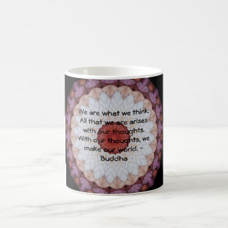 INSPIRATIONAL Buddhist Quote, Saying Classic White Coffee Mug